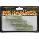 Big Hammer Swimbait, Keylime, 3-Inch
