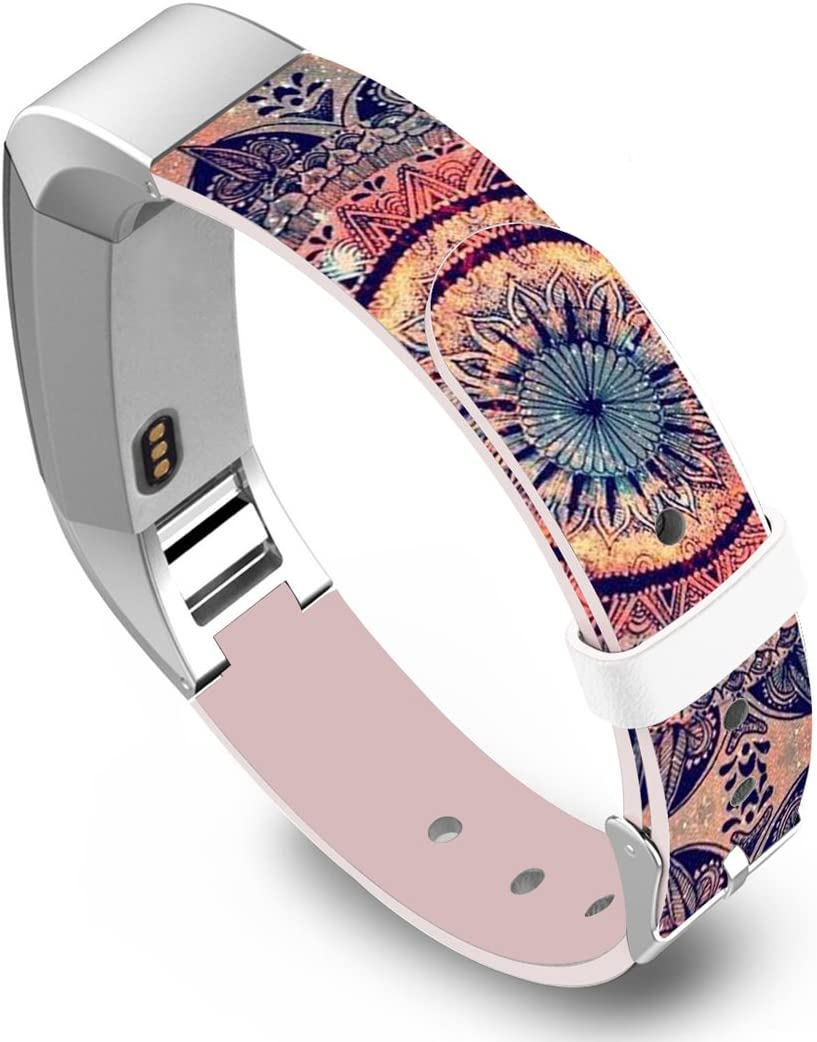 Floral Wristbands Strap for Women/&Men Replacement Bands Compatible with Fitbit Alta and Fitbit Alta HR