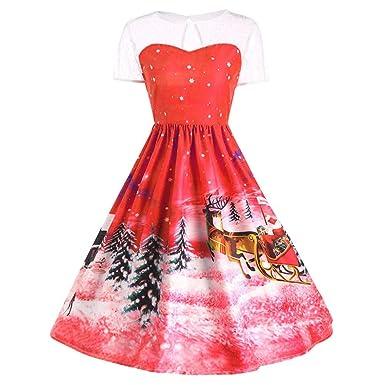 da84b5470462b VEMOW Christmas Dresses