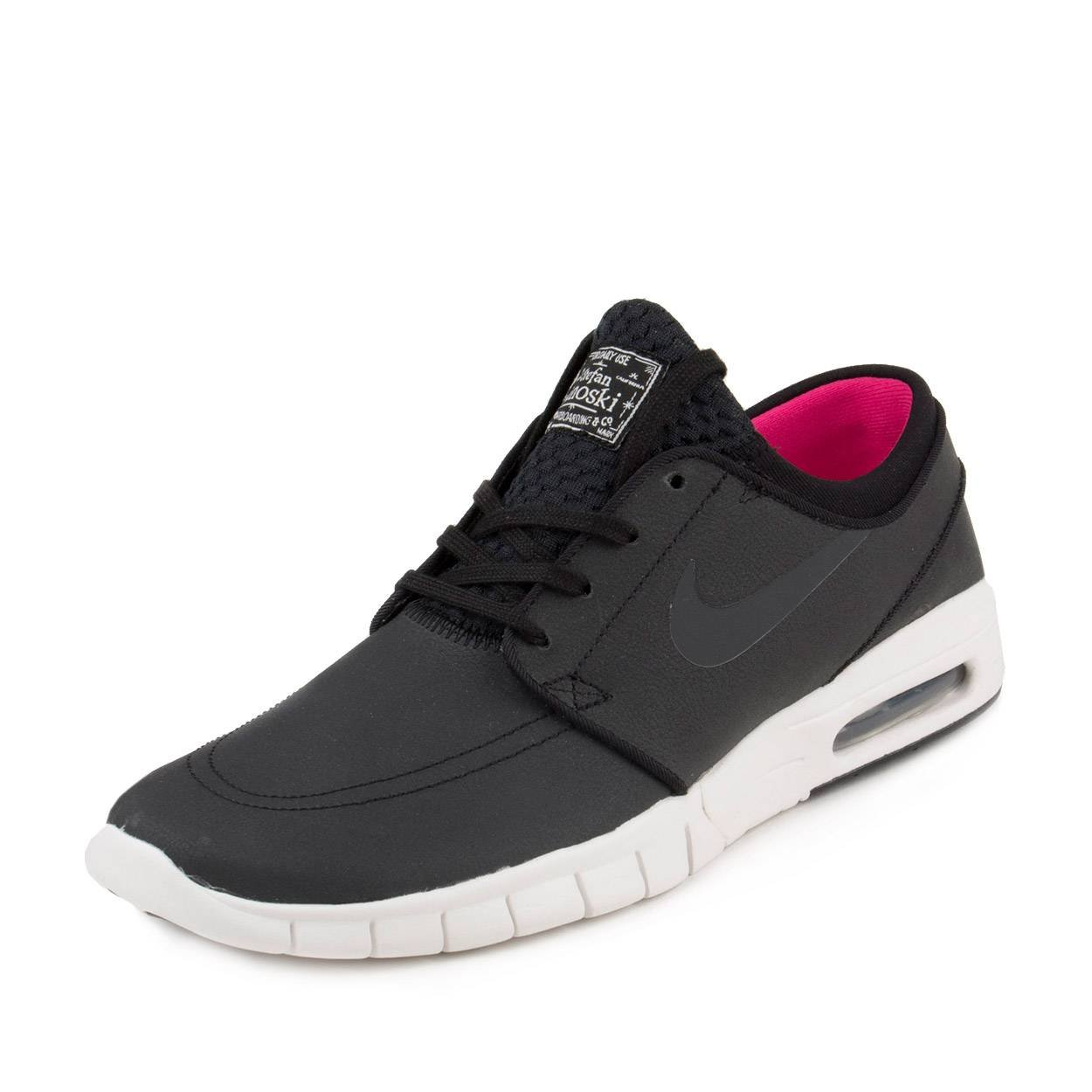 san francisco b0e2d 3bb3f Galleon - NIKE SB Zoom Stefan Janoski Max Suede Black Anthracite Summit  White Hyper Pink Skate Shoes-Men 12.0, Women 13.5