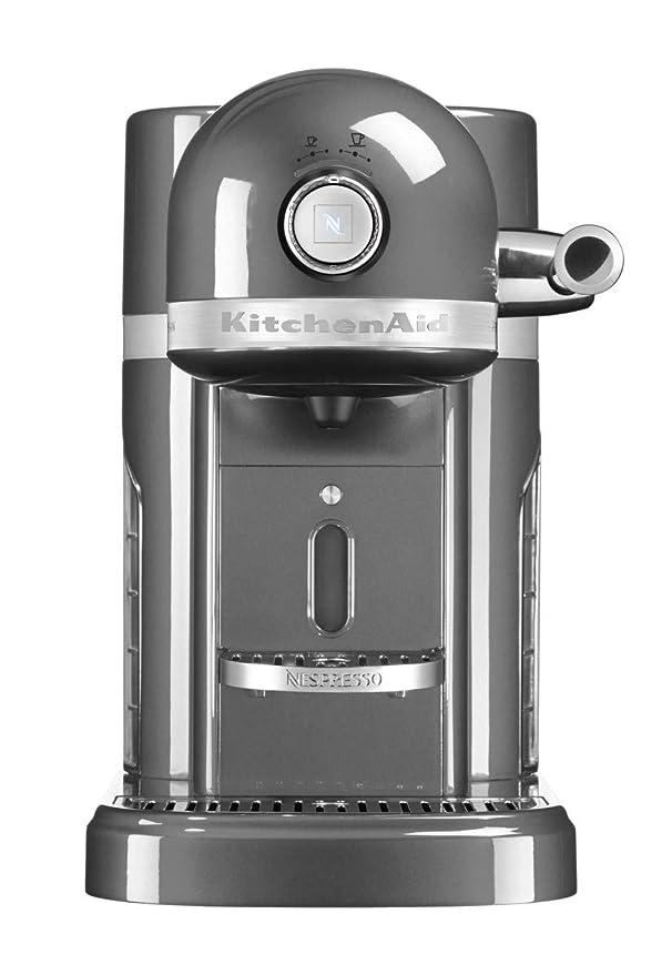 Kitchenaid 5KES0503EMS - Máquina de Nespresso, color plateado ...