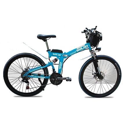 Dapang Bicicleta de montaña eléctrica de 48 voltios, Bicicleta eléctrica Plegable de 26 Pulgadas con