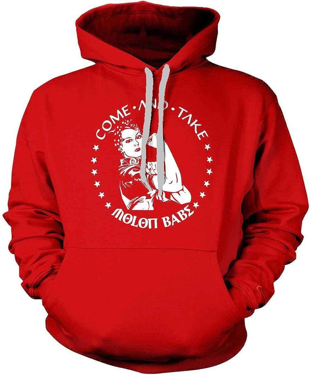 Sweatshirt Sons Of Liberty Hoodie Molon Babe