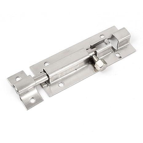 Acero inoxidable cerradura de seguridad para puertas y cajones con pasador 7,62 cm