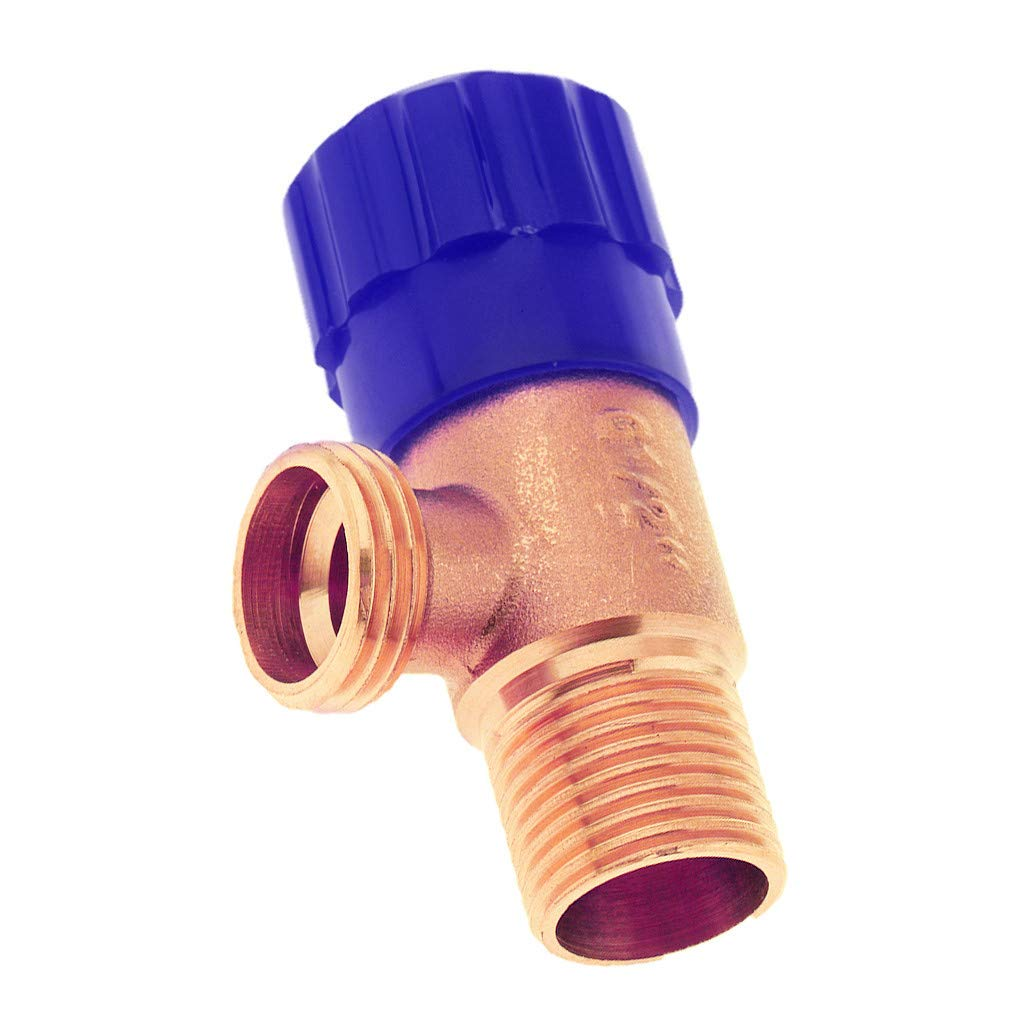 Copper Tee Connection Fittings Brass Valve Water Connector Inlet Valve