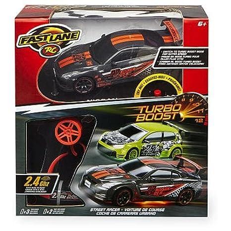 Fast Lane 1:24 Turbo Boost Street Racer Radio Control Diecast - Nissan GT-