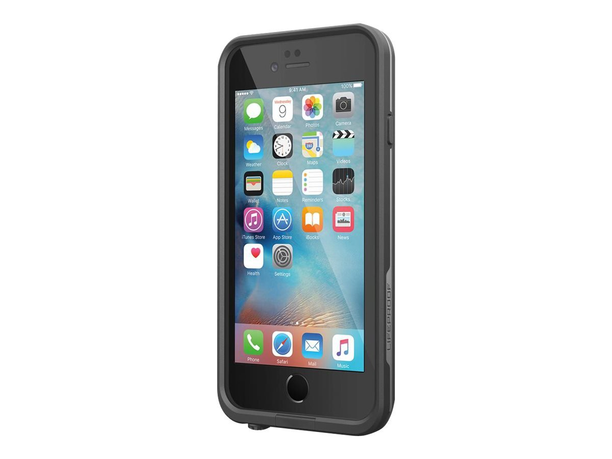 "Lifeproof FRE SERIES iPhone 6/6s Waterproof Case (4.7"" Version) - Retail Packaging - BLACK"