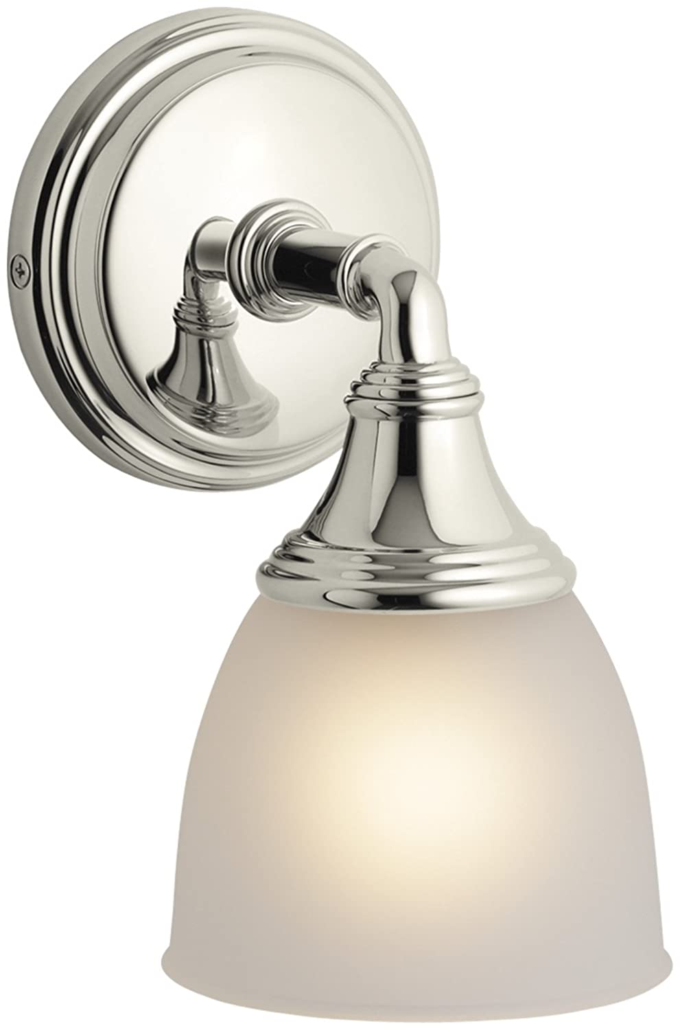 single lita nickel brand visual polished sconce cg with cryst comfort ah sku in