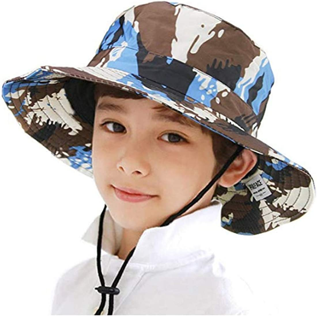 Child Kid Girls Straw Boater Hat Summer Beach Sun Boonie Cap Headwear Breathable