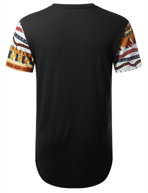 636789c1e URBANTOPS Mens Hipster Hip Hop Egypt Pyramid Dashiki Longline T-Shirt  Black, S < Shops < Clothing, Shoes & Jewelry - tibs