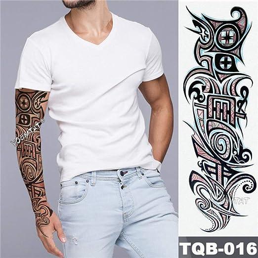 Handaxian 3pcsArm Tattoo Maori Power Totem Waterproof Tattoo ...