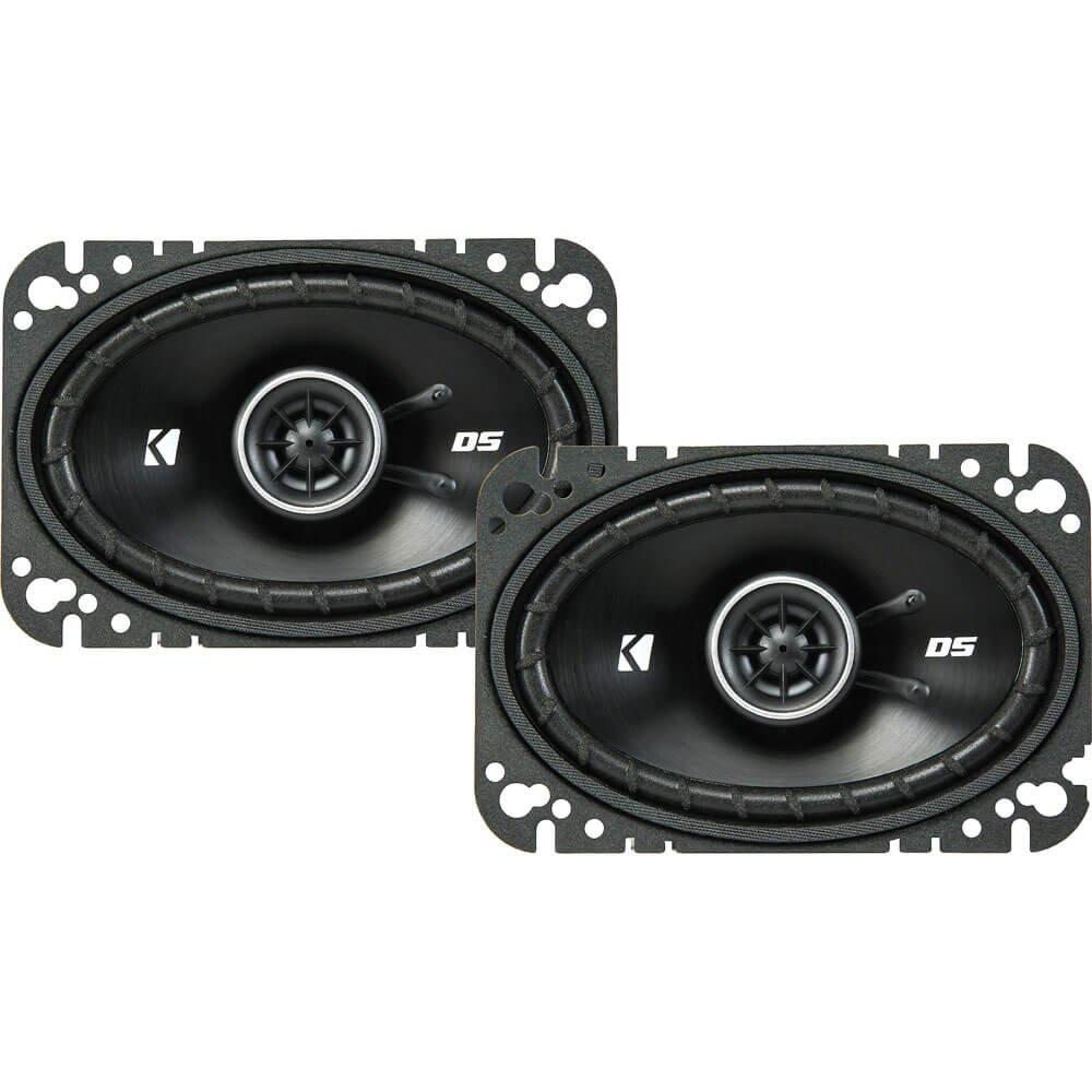 Kicker 43DSC4604 4x6'' 2-way Speaker Pair by KICKER