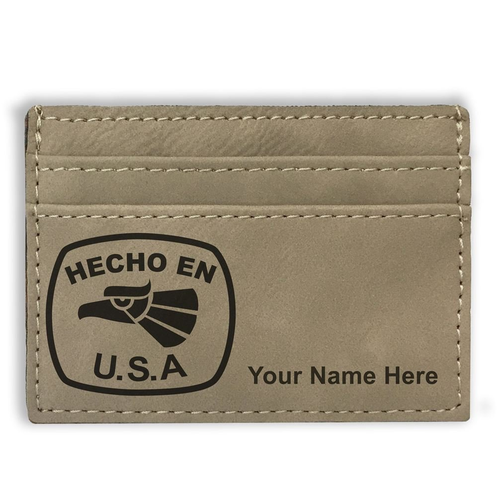 Personalized Engraving Included Money Clip Wallet Hecho en USA