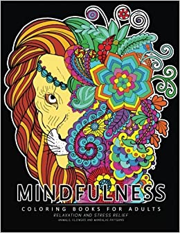 Mindfulness Coloring Book For Adults Relaxing Coloring Pages For