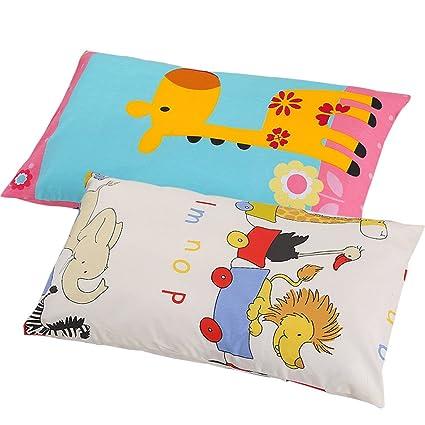 Swesy - 2 paquetes de fundas de almohada de dibujos animados ...