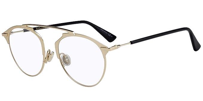 factory outlets official super cheap Lunettes de Vue Dior DIOR SO REAL O GOLD unisexe: Amazon.fr ...