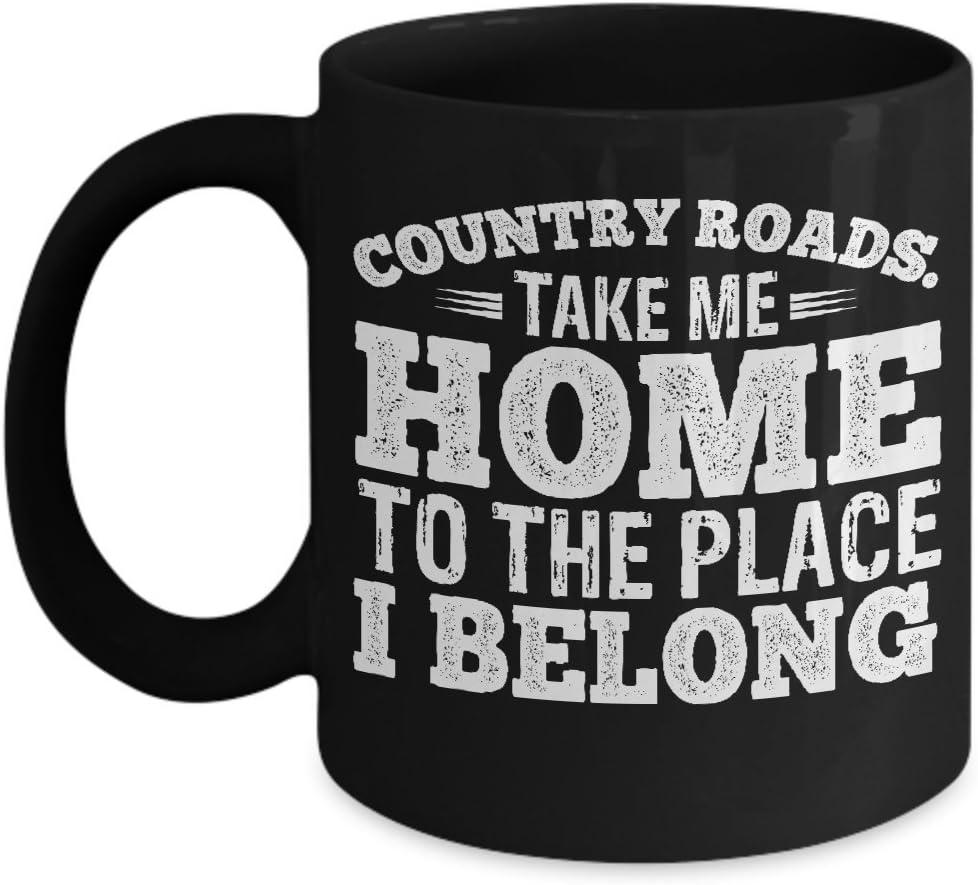 Country Roads Take Me Home Mug