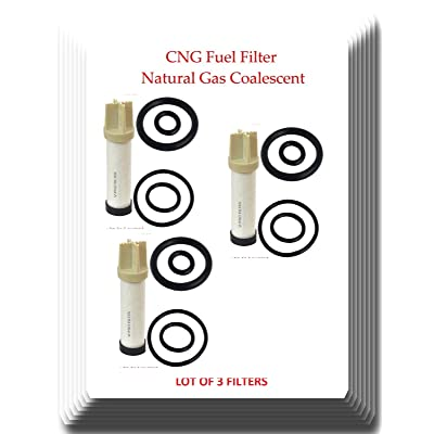 CLS112-6v [ 3 FILTERS ]V-Pro CNG Filter Replaces: Parker CLS112-6 CNG Filter Coalescing Element: Automotive