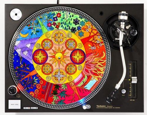 Seasons DJ Turntable Slipmat