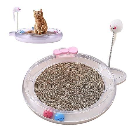 Womdee Juguete de Gato para Mujer con Forma de Turbo, Juguete para Gatos y Gatos