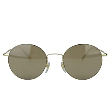 aaca4d63e Image Unavailable. Image not available for. Color: Gucci Unisex Round Gold Metal  Sunglasses ...