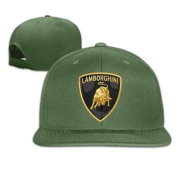 MaNeg Lamborghini Logo Unisex Fashion Cool Adjustable Snapback Baseball Cap  Hat One Size ForestGreen  Amazon.ca  Sports   Outdoors 7fc23932685