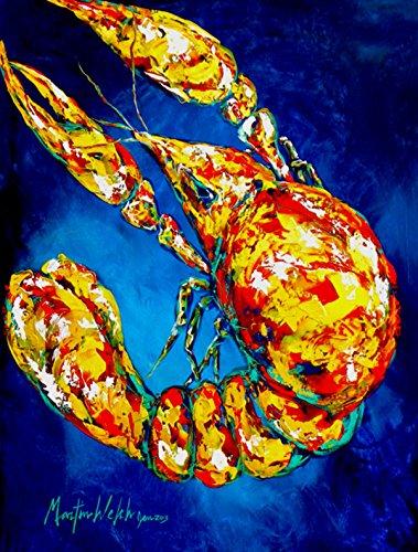 Cheap Caroline's Treasures MW1185GF Big Boy on Blue Crawfish Flag, Small, Multicolor