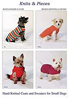 Knits & Pieces Knitting Pattern SP14 : Small Dog Coats