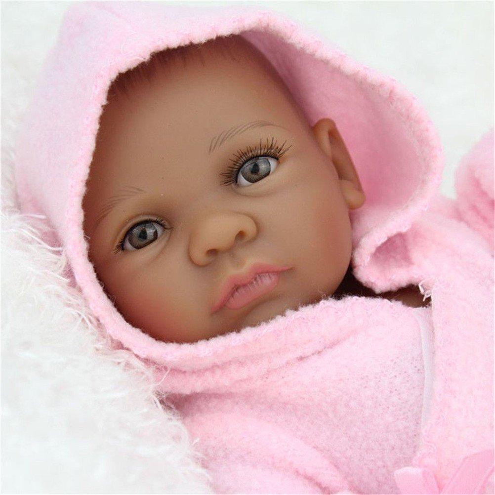 Amazon.com : African American Reborn Baby Doll Boy Look ...