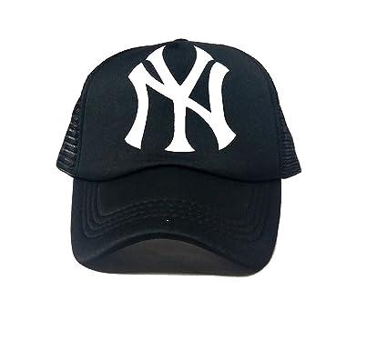 Michelangelo BLACK NY BASEBALL Cap For Men Girl Womens UNISEX CAP   Amazon.in  Clothing   Accessories 485f0f23ac