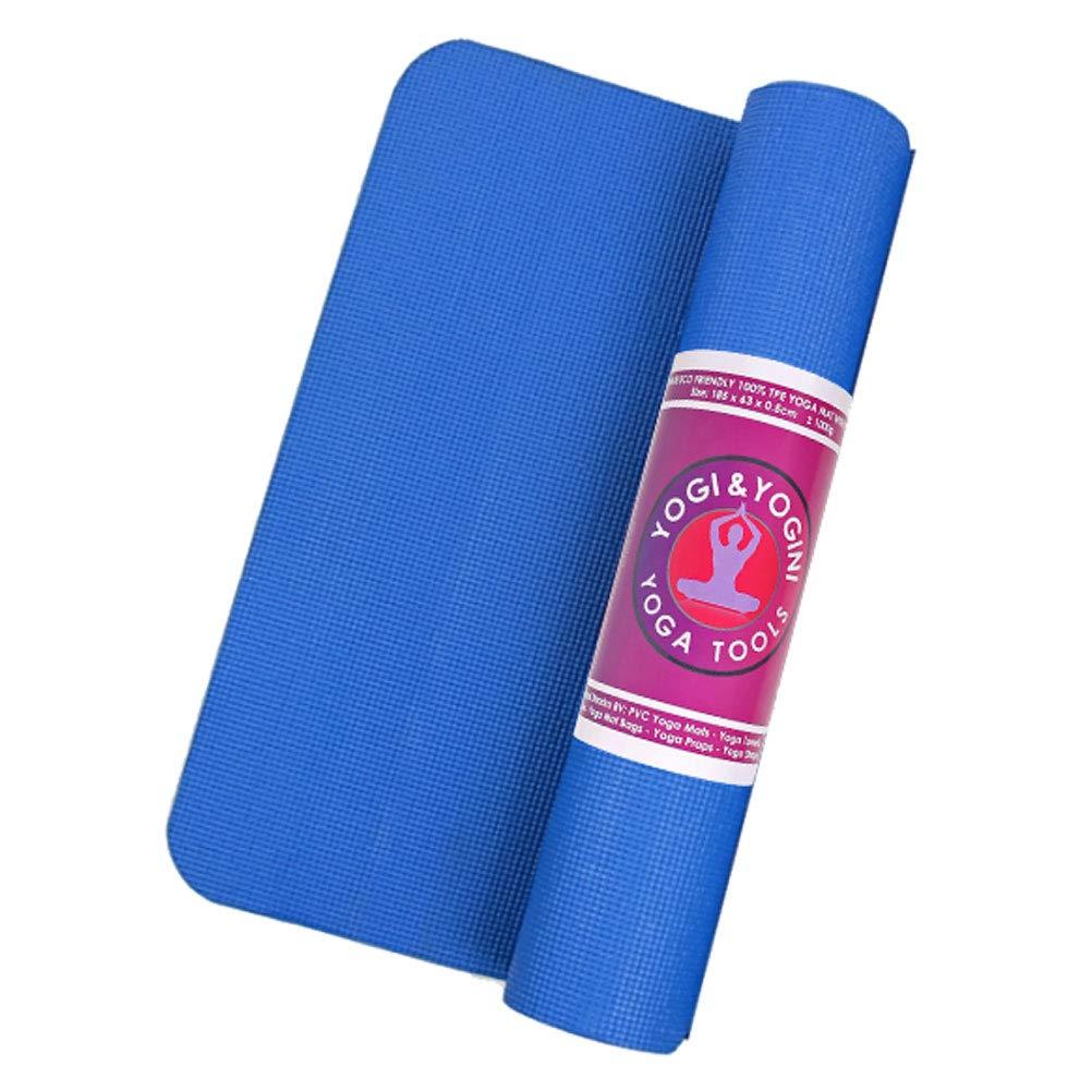 Zen y étnico Alfombra de Yoga Azul 1250 G: Amazon.es: Hogar