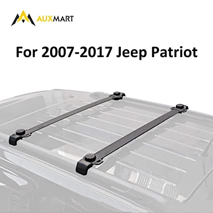 AUXMART Roof Rack Cross Bars for 2007–2017 Jeep Patriot