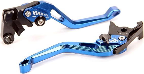 Auzkong Brems Kupplungshebel Für Suzuk Gsxr600 Gsxr750 2006 2010 Gsxr1000 2005 2006 Kupplung Bremshebel Blau Auto