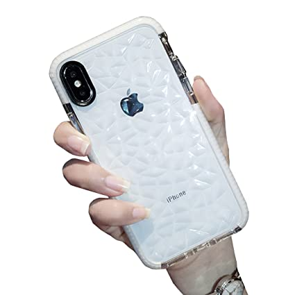 Amazon.com: seabaras iPhone X funda 3d diamante ...