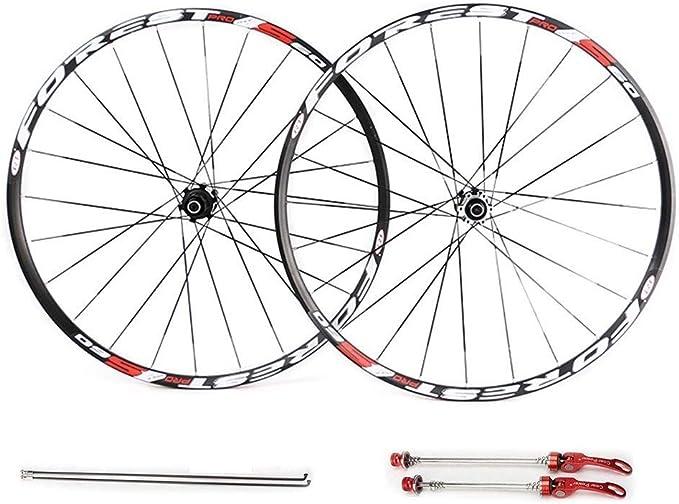 MZPWJD 26 27.5 Pulgadas Ruedas de Bicicleta de montaña, MTB Bike ...