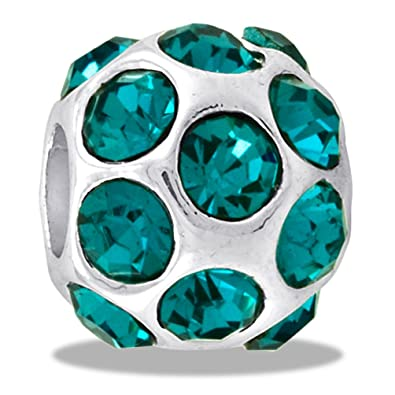 f33751eb9851a DaVinci Bead December CZ Ball Birthstone - Jewelry Bracelet Memories Beads  DB46-1-DAV
