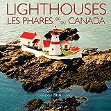 Lighthouses Of Canada 2016 Square 12x12 Bilingual Wall Calendar by Wyman Publishing (July 15,2015)