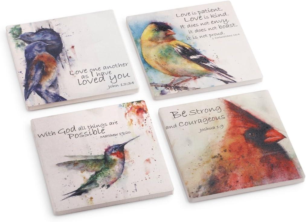 Demdaco 3005051165 Big Sky Carvers Springtime Bluebird Spoon Rest Multicolored