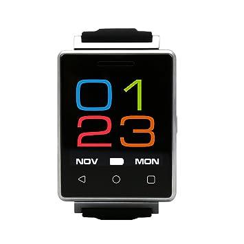 Reloj inteligente Bluetooth altavoz incorporado, Bluetooth, correa de resina muñeca salud Smartwatch, podómetro