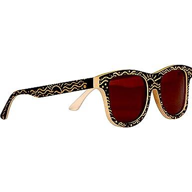 da56e61c103c Image Unavailable. Image not available for. Color  WOODIES Custom Designed Full  Bamboo Wood Polarized Sunglasses