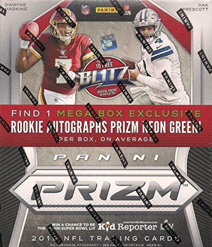 2019 Panini Prizm NFL Football MEGA box (40 cards incl. ONE Rookie Autograph card)
