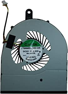 Power4Laptops Replacement Laptop Fan for Dell Inspiron 14 5458, Dell Inspiron 14 5459, Dell Inspiron 15 5558, Dell Inspiron 15 5559, Dell Inspiron 5458
