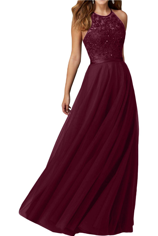 Abendkleid Rot Lang: Amazon.de