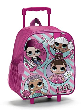 Lol Surprise - Mochila infantil Multicolor Whats The Buzz 27x31x11