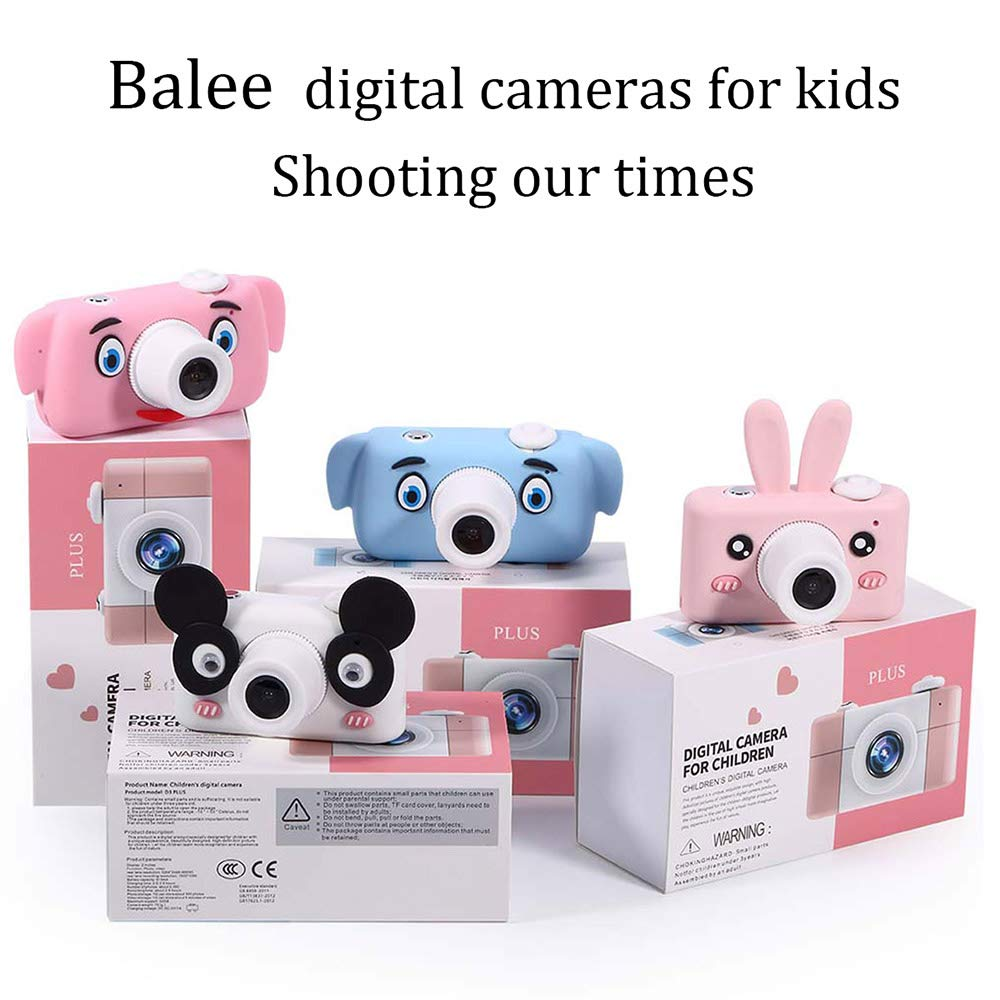 Balee Kids Digital Camera Mini 2 Inch Screen Children's Cameras 8MP HD Video Cameras Camcorder for Girls and Boys Included 16G TF Card and Silicone Soft Cover by Balee (Image #8)