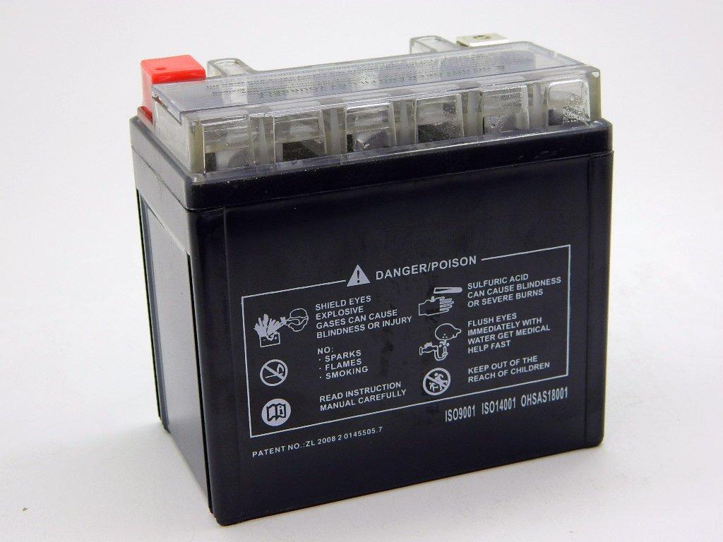 9sparts YTX5L-BS Maintenace Free 12V Sealed Gel Battery