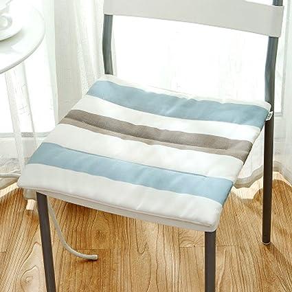 Amazon.com: Gaojiangang - Cojín de asiento (algodón, sección ...