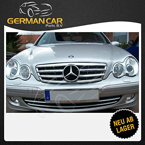 Rejilla frontal de GermanCarParts GCP-203051, color cromado ...