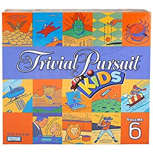 Trivial Pursuit for Kids - Volume 6 Board Game - 61vFZ Pr5RL - Trivial Pursuit for Kids – Volume 6 Board Game