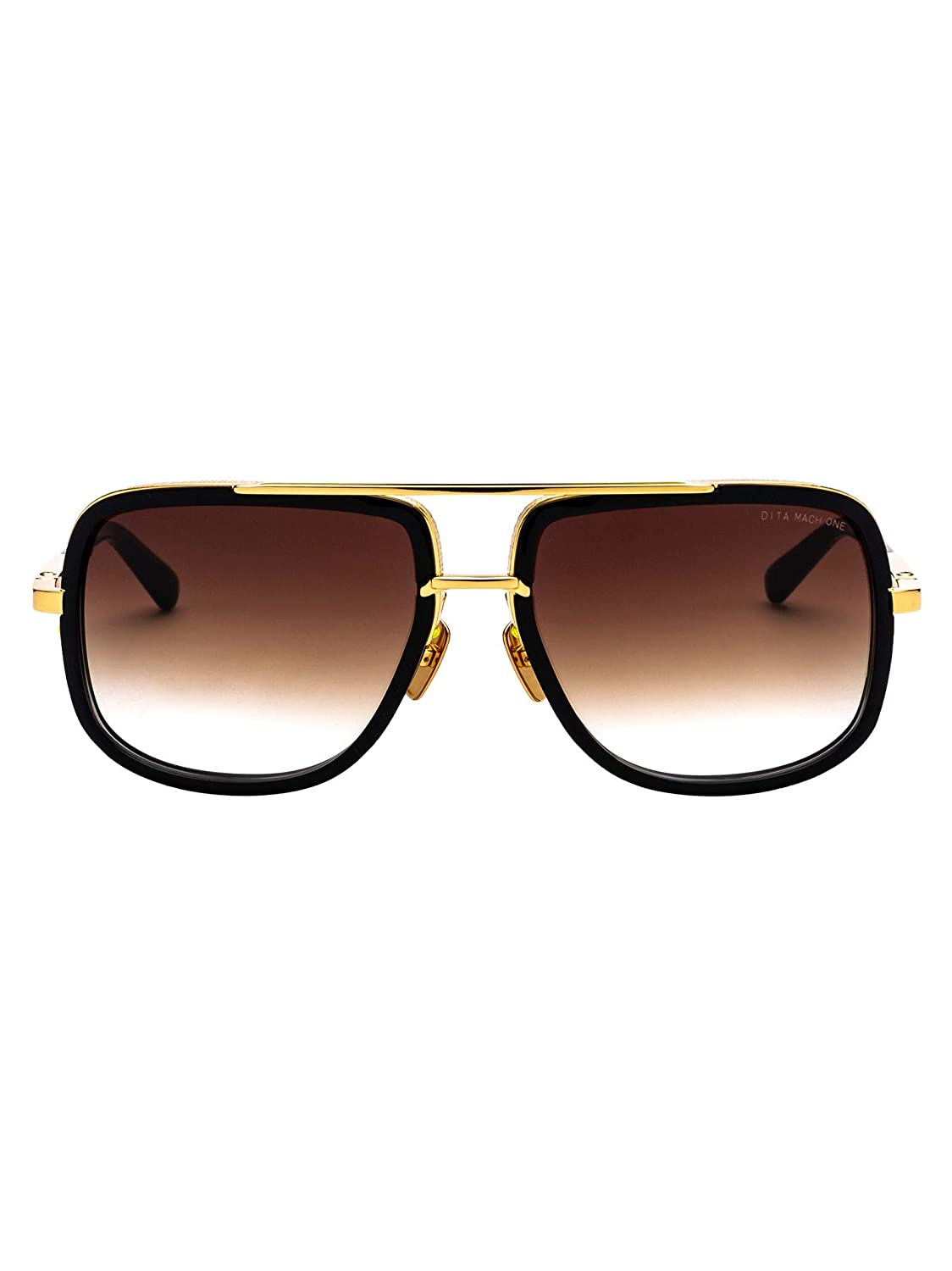 Luxury Fashion | Dita Hombre DRX2030B59SHINY18KGOLD Negro ...